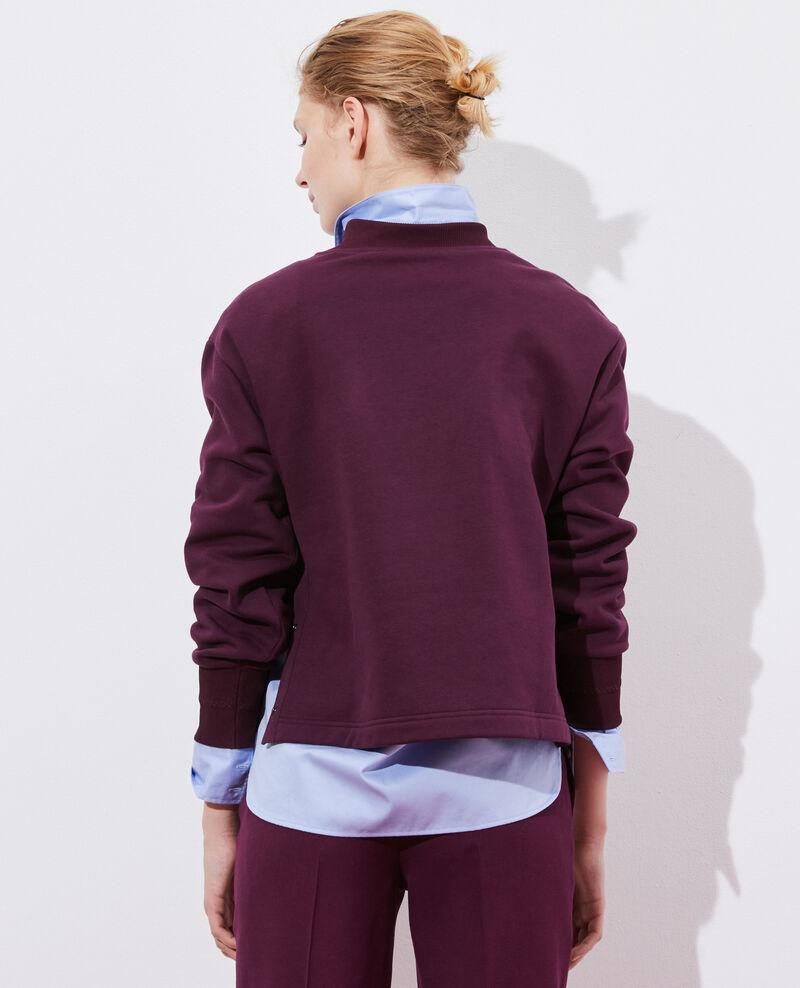Turtleneck sweatshirt Potent purple Pexone