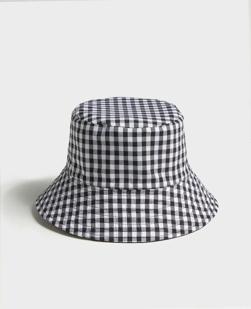 Bucket hat Black vichy black Looker