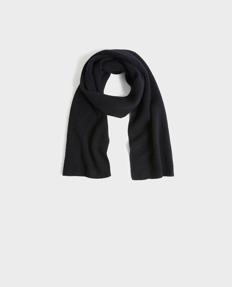 Cashmere scarf Black beauty Plaudie