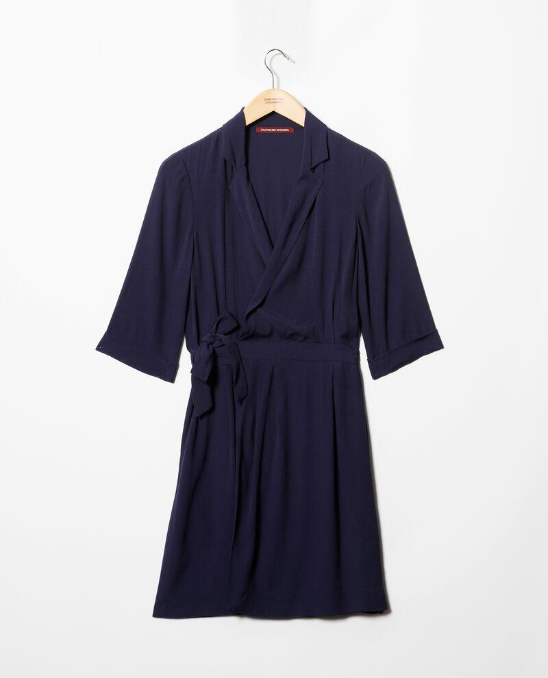 Wrap dress Peacoat Gideen