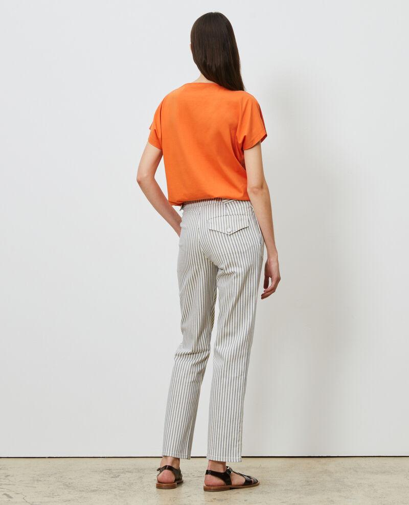Short-sleeve cotton t-shirt Harvest pumpkin Marcelin