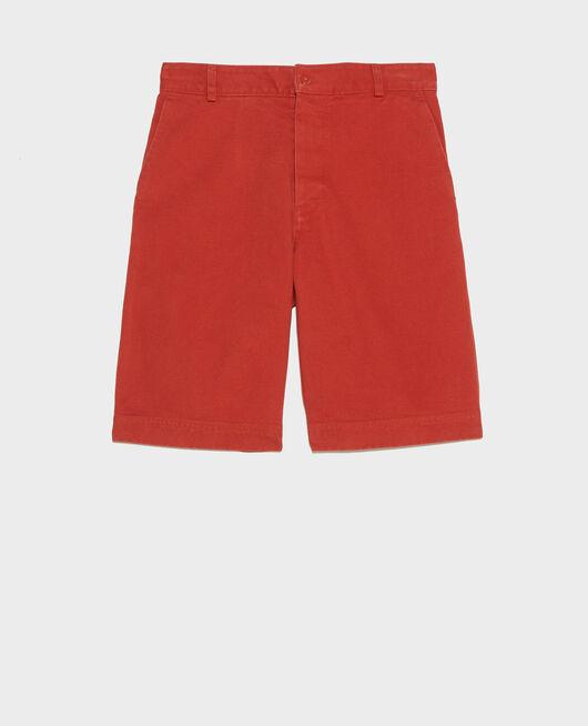 Cotton canvas bermuda shorts KETCHUP