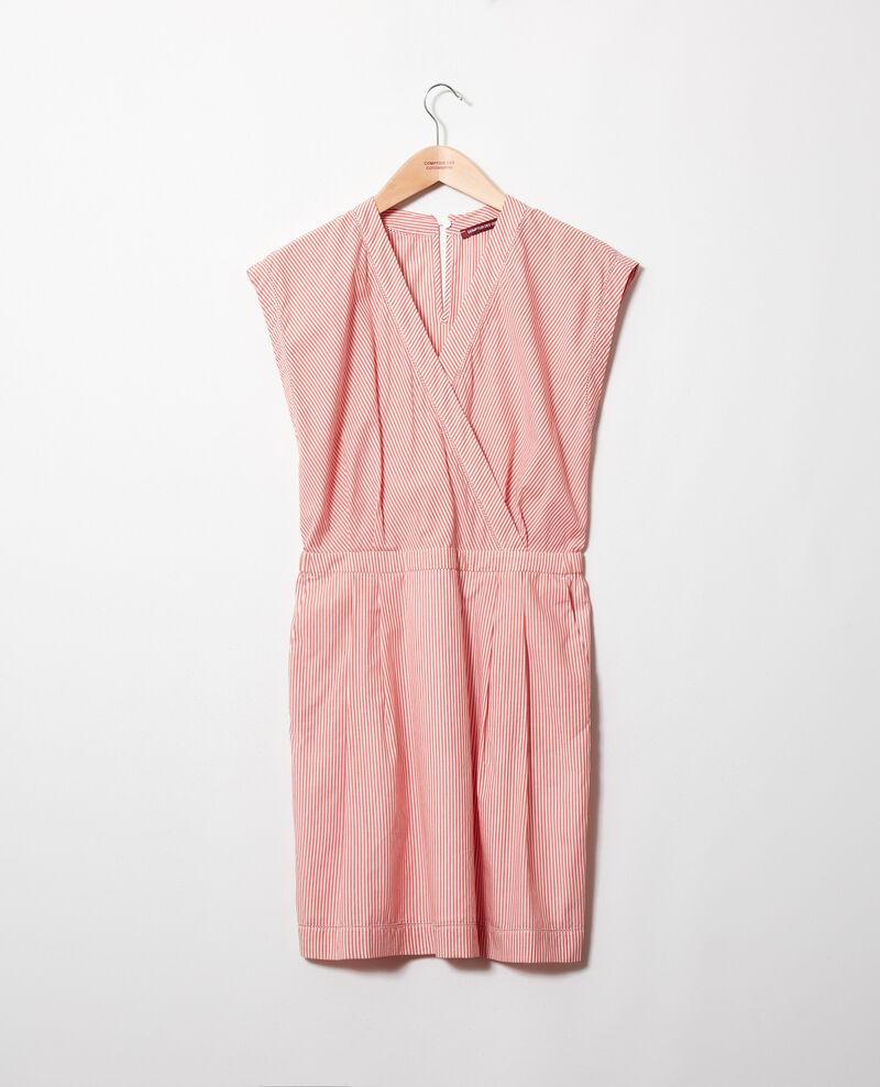 Cotton wrapover dress Ss molten lava Janisa