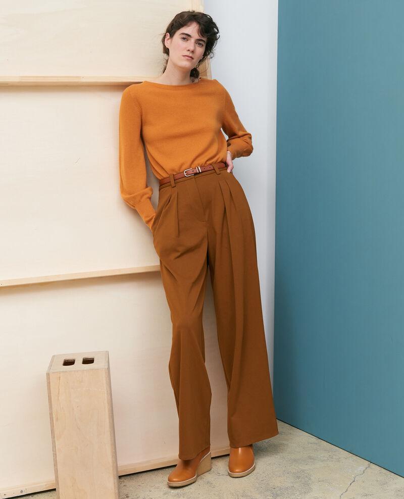 YVONNE trousers, wide pleated Monks robe Pradus