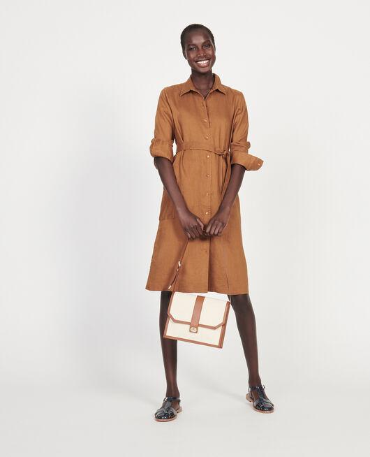 Linen dress MONKS ROBE