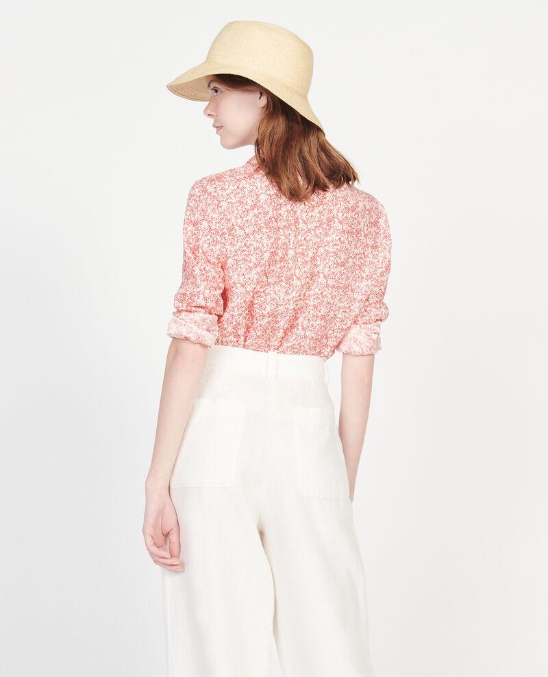 Printed shirt Feuillage buttercream Laloun