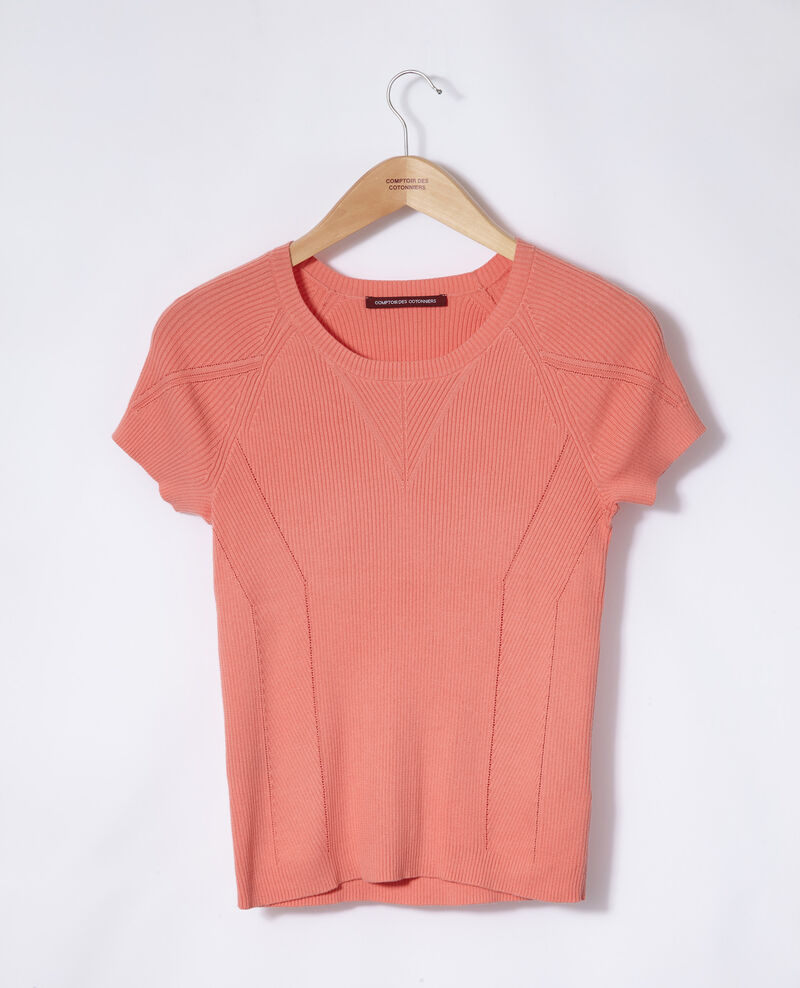 100% cotton jumper Burnt coral Gildas