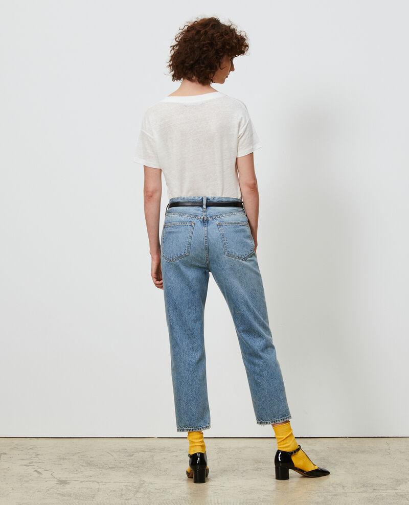 Distressed 7/8 jeans Vintage wash Neronage
