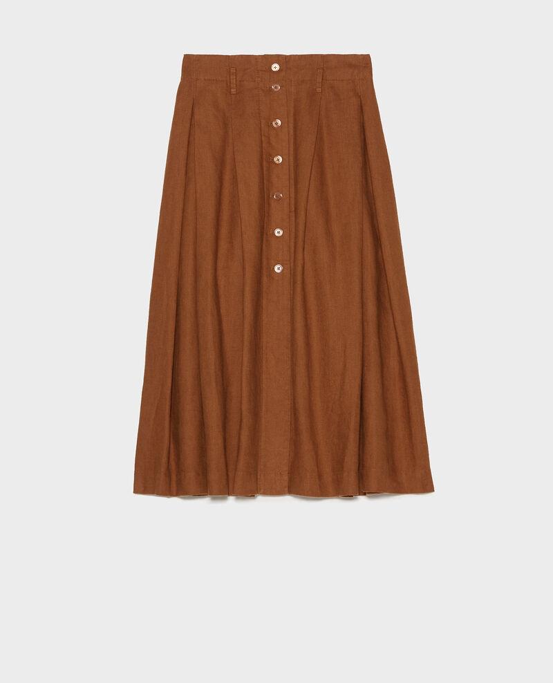 Mid-length skirt Monks robe Lorlange
