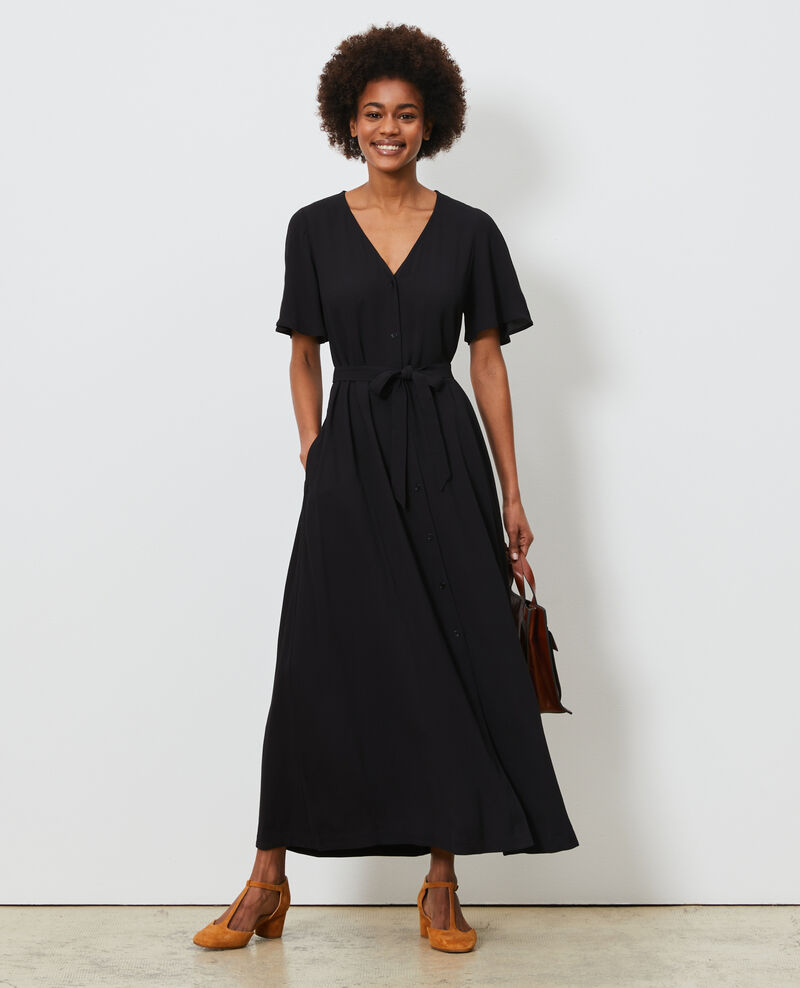 Maxi dress Black beauty Lavish