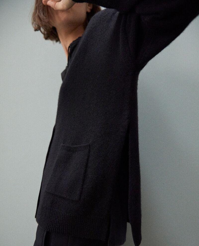 Cashmere cardigan Noir Ilton