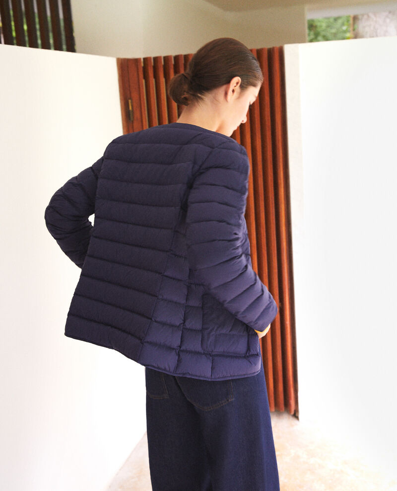 Mademoiselle Plume down jacket Blue Gallipi