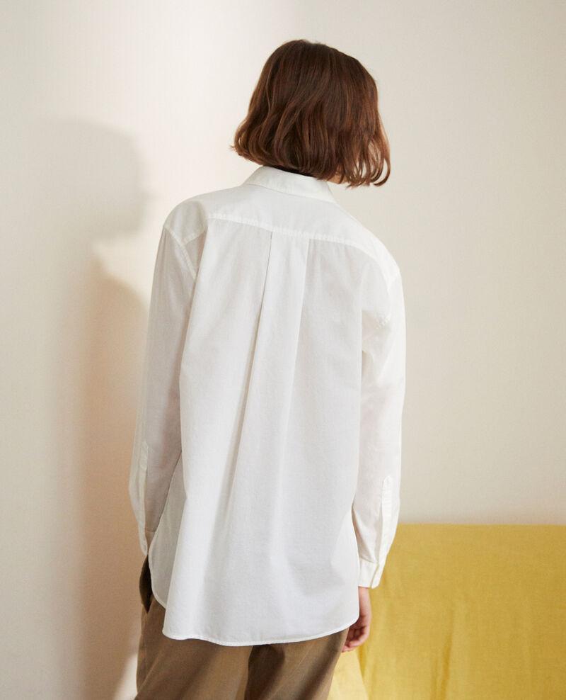 Classic cotton shirt Blanc Ibouya