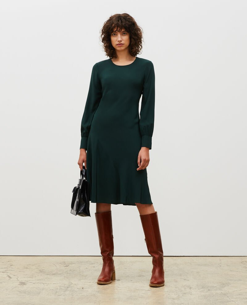 Floaty silk bias-cut dress Scarab Mantet