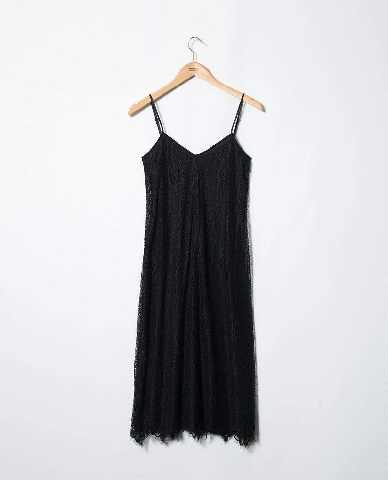 Lace dress Noir Idris