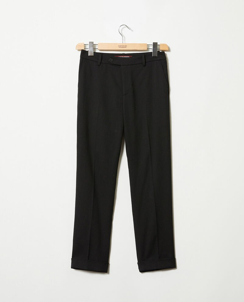 Carrot trousers Noir Jokyo
