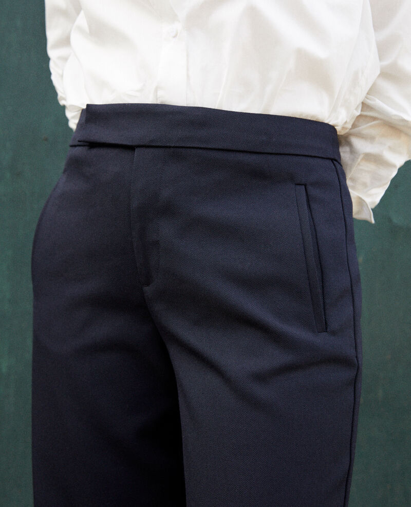Straight-leg trousers Dark navy Joubert