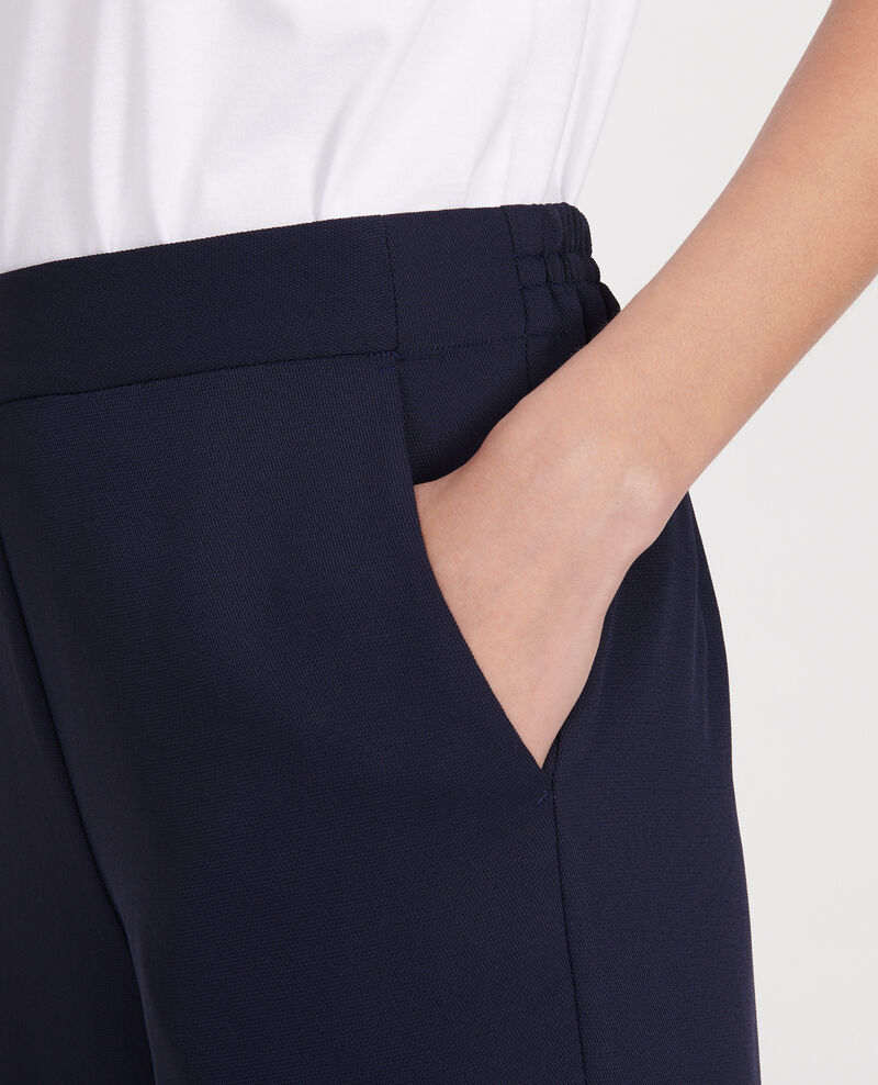 Straight-leg trousers Maritime blue Luant