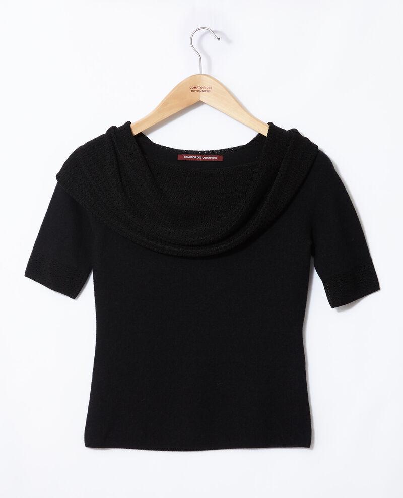 Wholegarment jumper  Black Giris