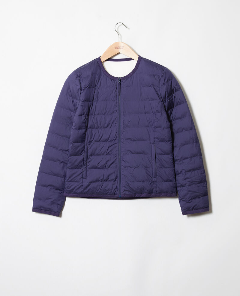 Iconic puffer jacket Eb/off white Jillopou