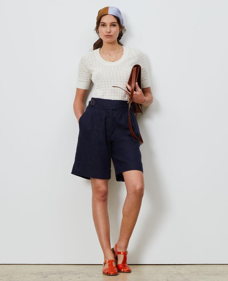 Linen and cotton jumper Buttercream Lagos