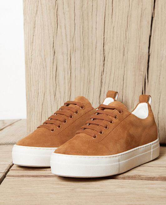 Platform sneakers  CAMEL