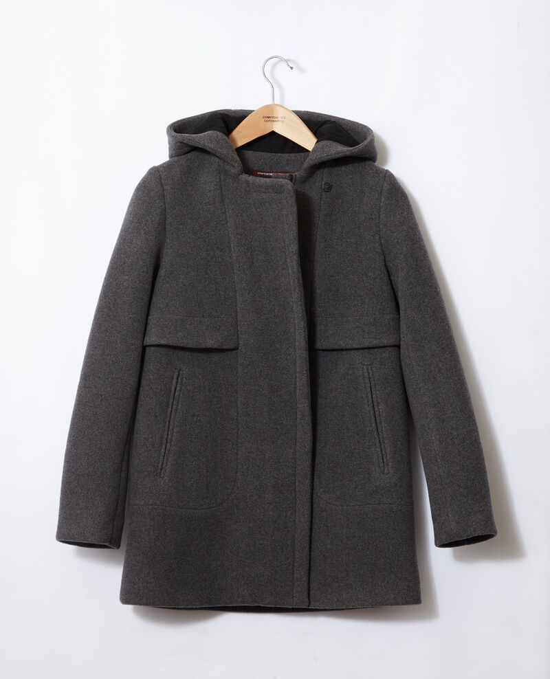 Hooded coat  Grey 9balex