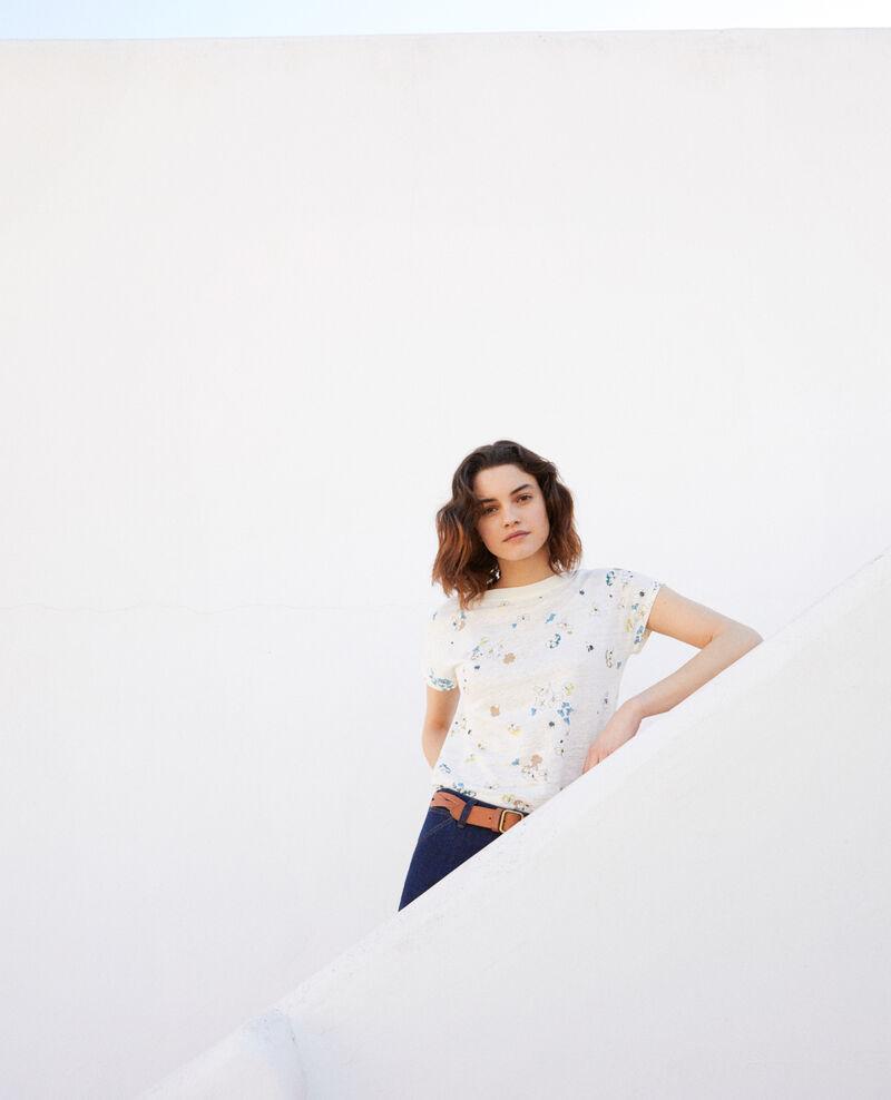 Boatneck t-shirt Dry off white Idilika