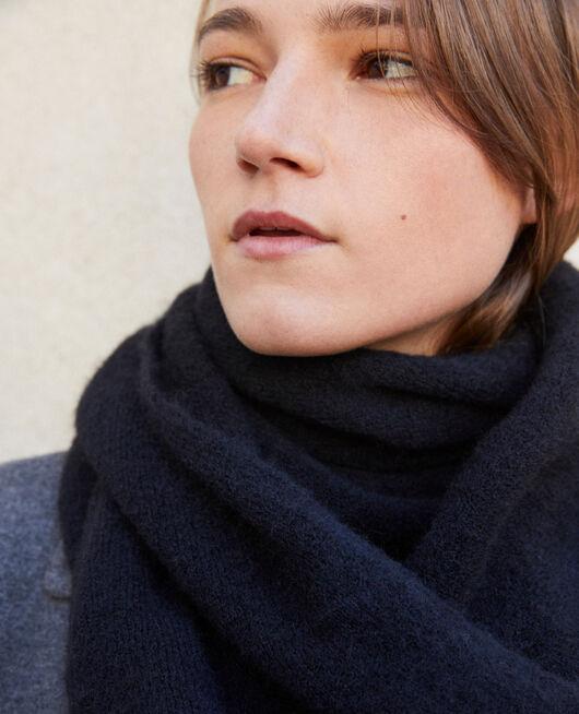 Fluffy scarf NOIR