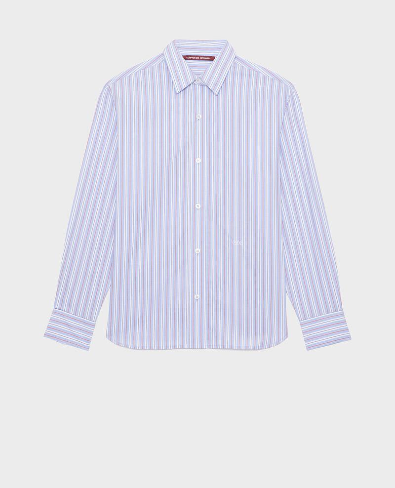 Cotton boyfriend shirt Popeline stripes Lynde