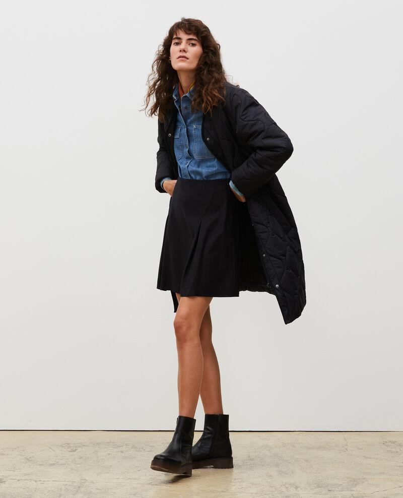 V-neck down coat  Black beauty Matoury