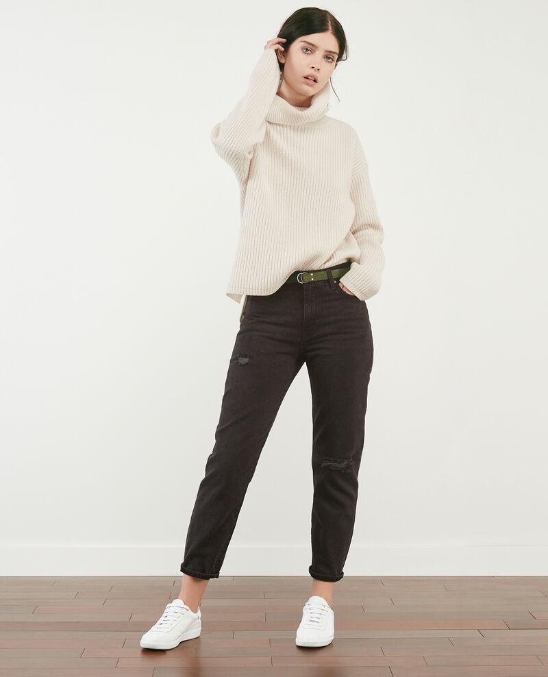 Vintage jeans Faded black Delois