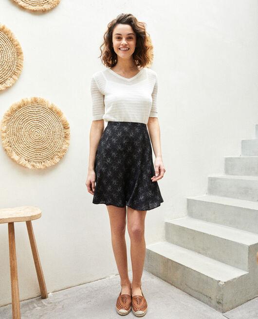 A-line skirt HURLY BURLY NOIR