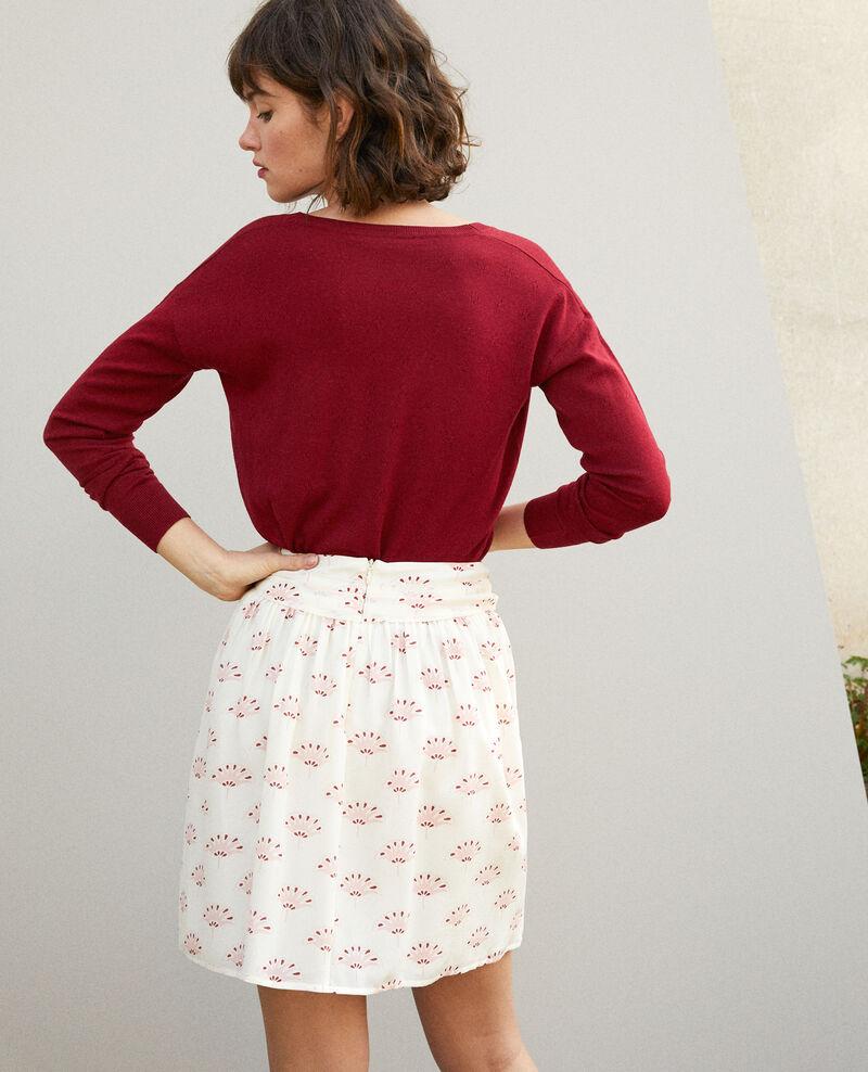 Short skirt White Gingembre