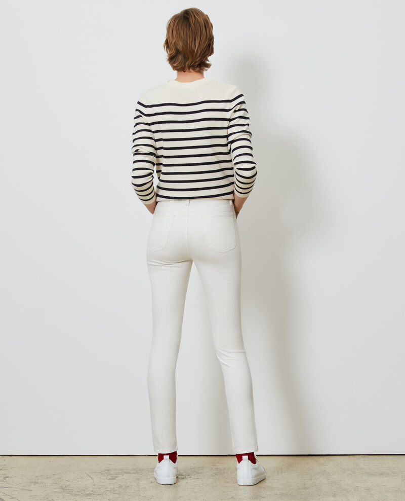 DANI - SKINNY - 5 pocket jeans Gardenia Mozakiny