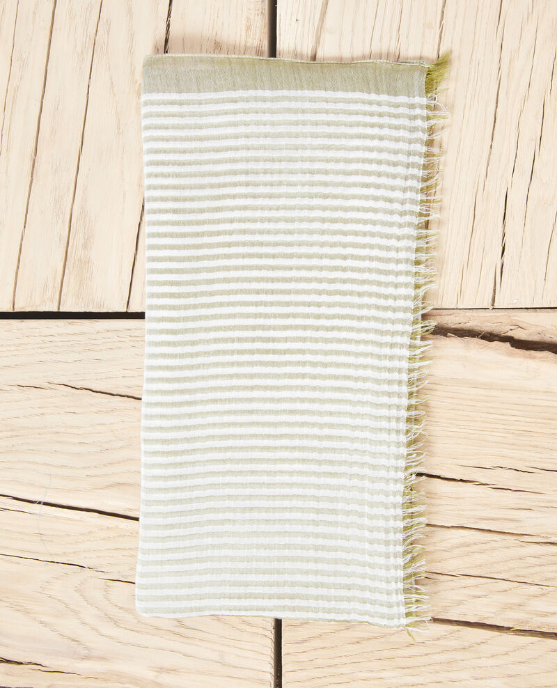 Striped scarf Blanc/light co Istripo