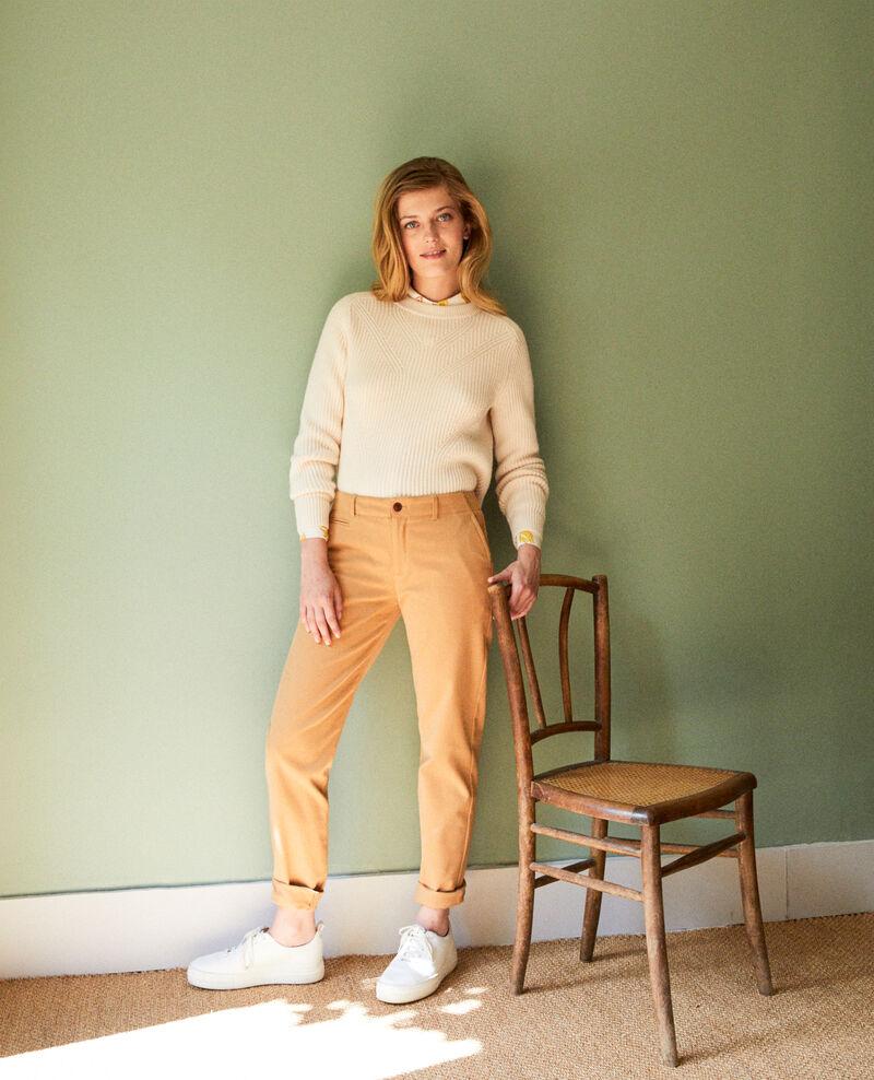 Straight-leg trousers Iced coffee Jino