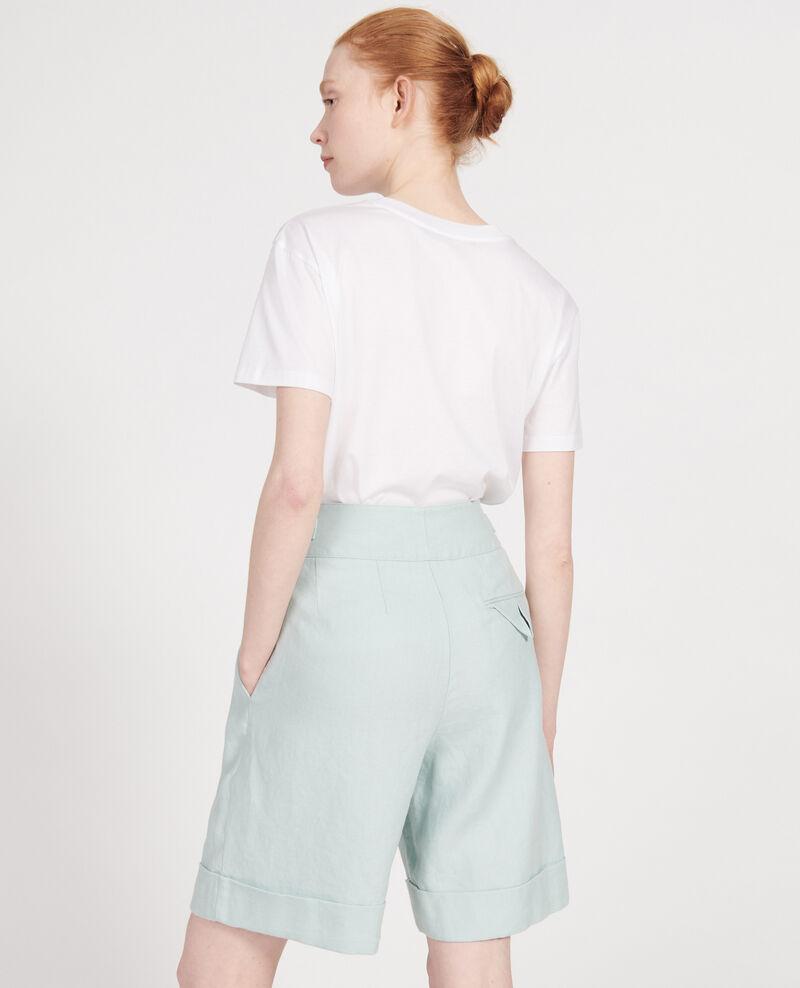 Linen shorts  Blue haze Laudi