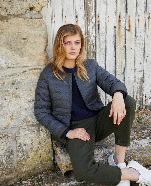 Iconic Mademoiselle Plume down jacket  DR OG/DEEP DE