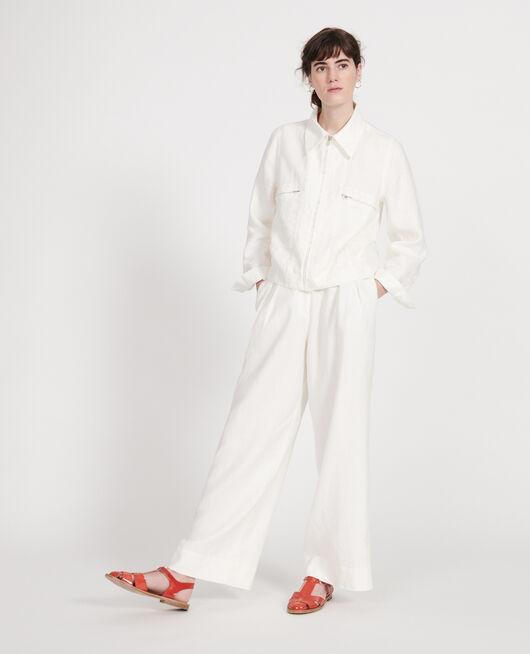 Linen jacket GARDENIA