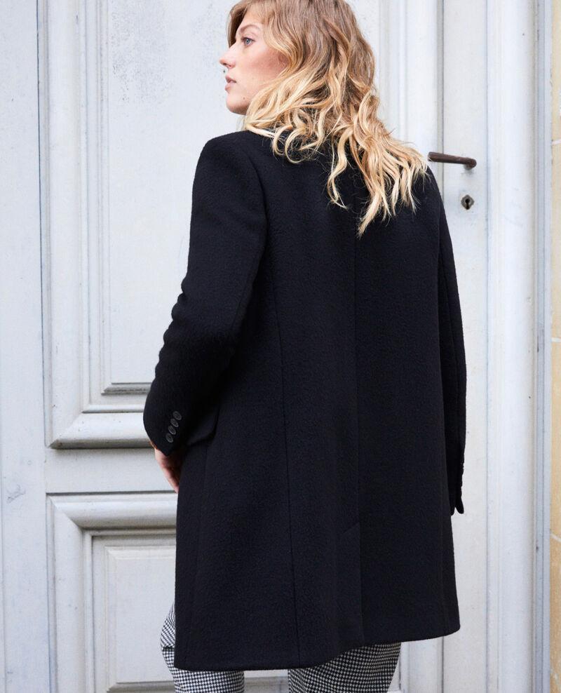 Coat with lapels Noir Jasmere