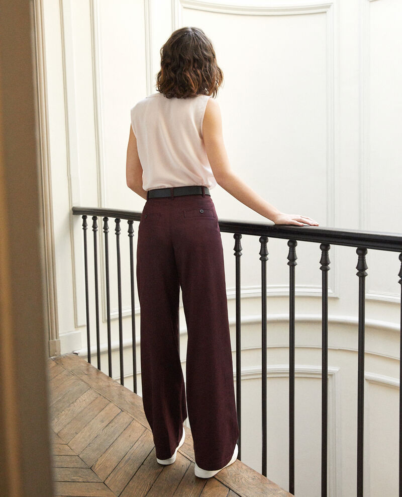 Loose fit trousers Brown Gabin