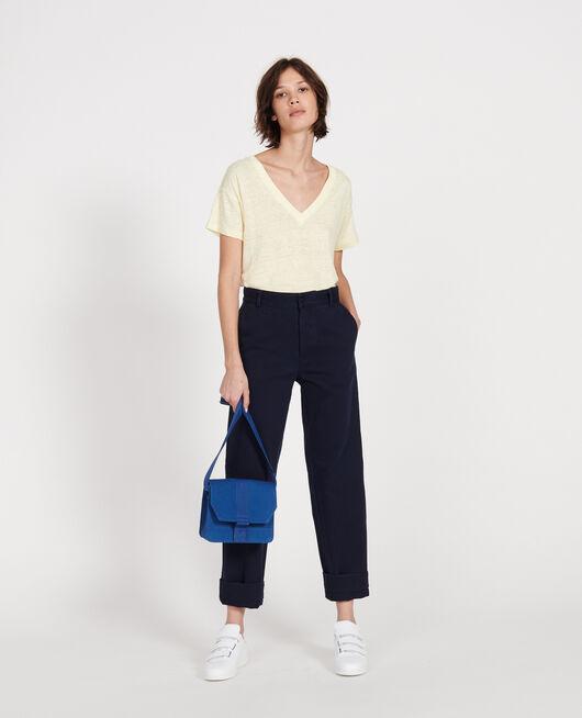 Small cotton bag PRINCESS BLUE