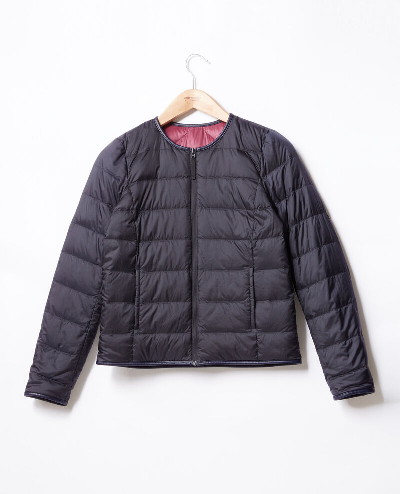 Reversible padded jacket Purple/navy Dinois