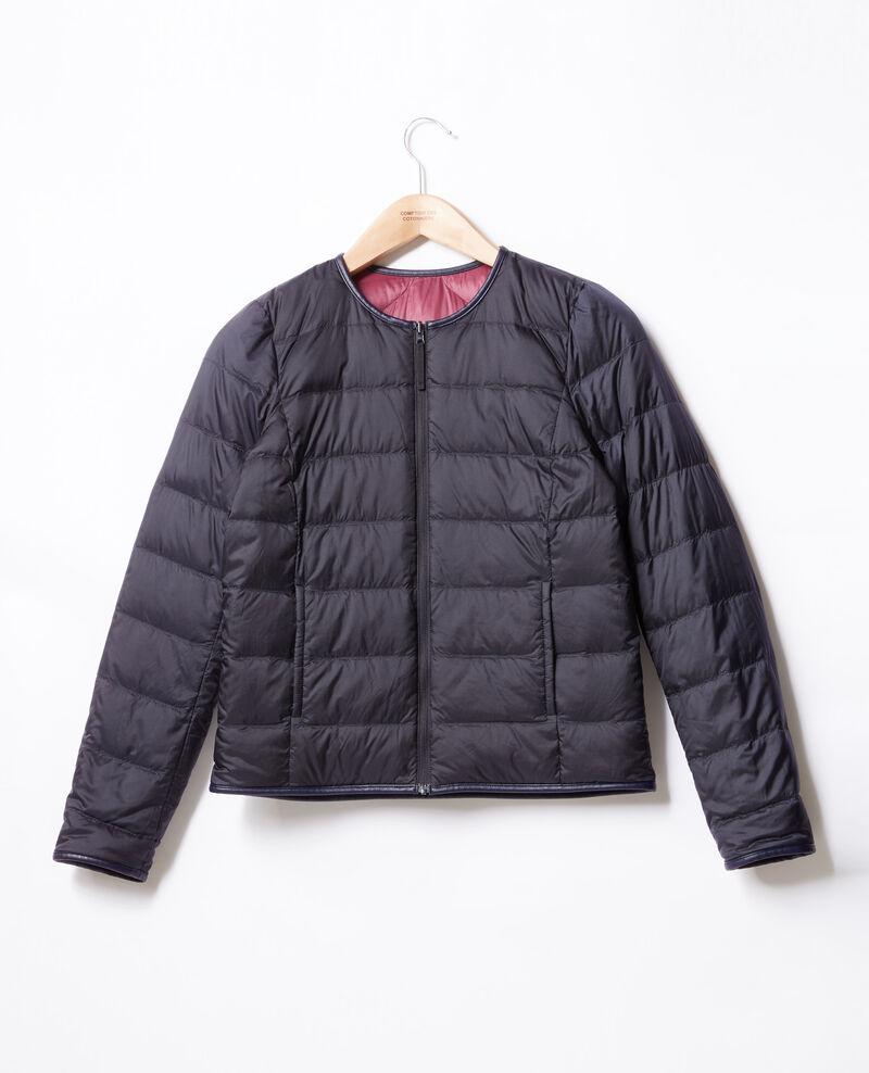 Reversible padded jacket Purple/navy Dinois