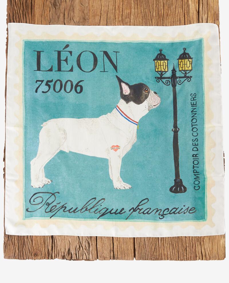Léon silk square Off white Felicite