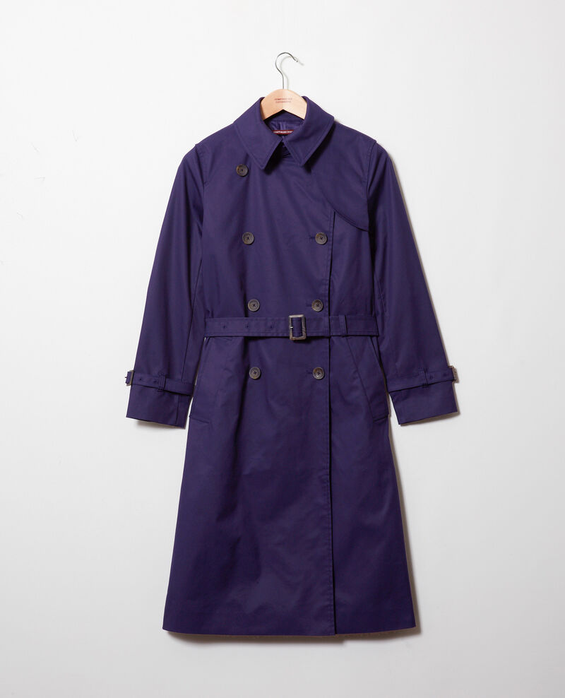 Timeless trench coat Evening blue Jonquille