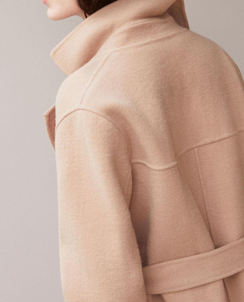 Double-sided coat Tannin Gamin