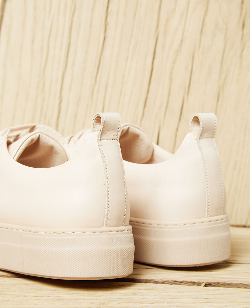 Platform sneakers Beige Iginas