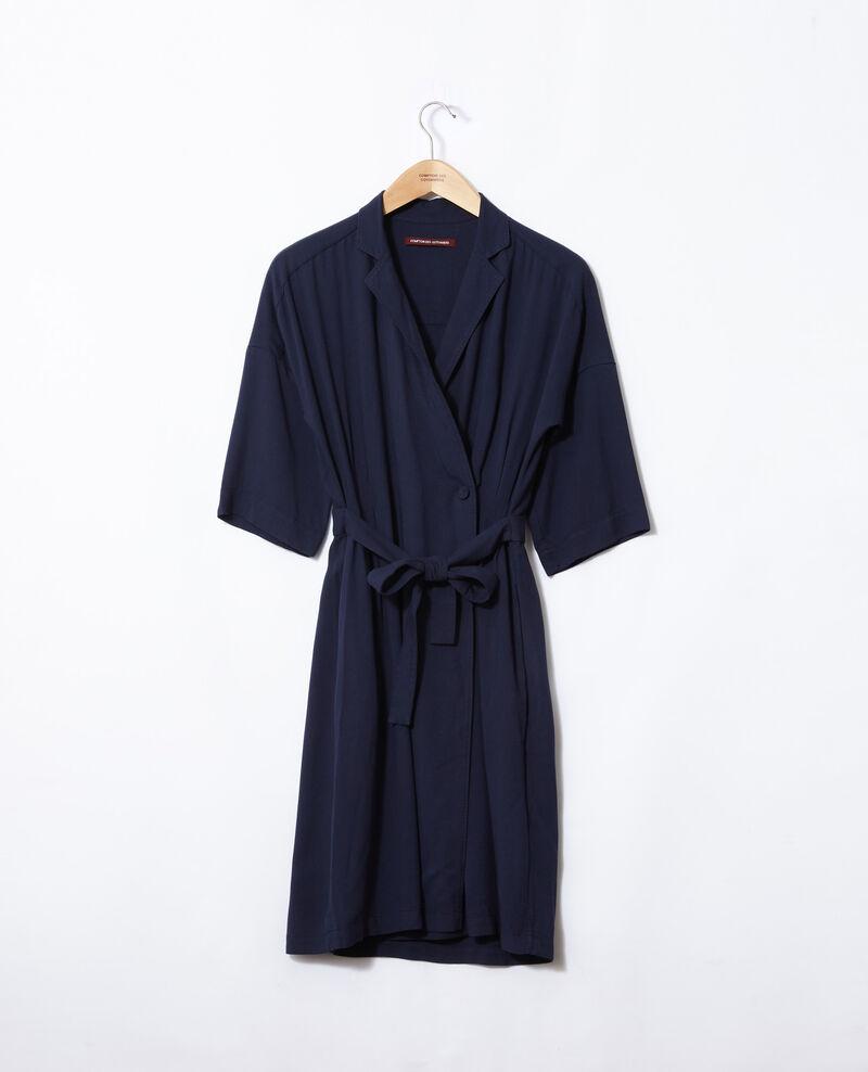 Wrap dress Blue Guichard